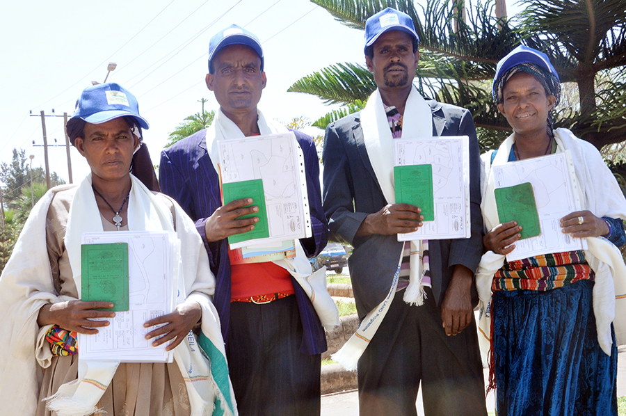 A Group of Landholders with  Land Certificates  -Hulet Eju Enese, Amhara (1).jpg
