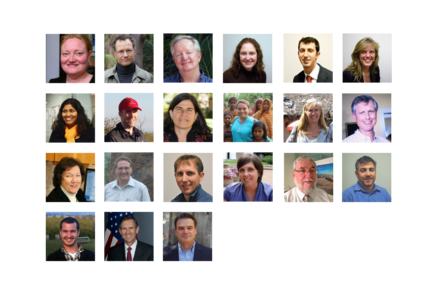 A portrait photo collage of the Journal's authors.