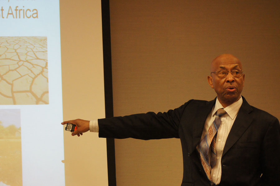 Photo of lecture at DAI headquarters in Washington, D.C.